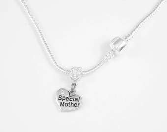 Special Mother Necklace  Mom Mommy Jewelry necklace Special Mommy Family Mother Nana Mimi Oma European Style Necklace