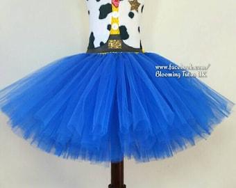 Toy Story Woody Jessie Inspired Tutu Dress-Birthday, Party, Photo Prop, Pageant