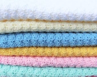 Crochet Baby Blanket, Baby Blanket, Crochet Blanket, Baby Afghan, Baby Girl Blanket, Baby Boy Blanket, Baby Blanket, Made to Order
