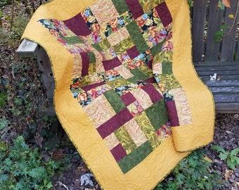 My Yellow Brick Road Quilt
