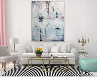 EXTRA LARGE Art Modern Abstract Painting Original Contemporary Wall Canvas Oversize