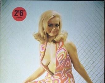FIESTA April late 1950s Vol 2 No 2. Retro Erotica Glamour magazine