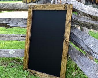 Large Rustic Framed Chalkboard - Chalkboards - Wedding Chalkboard - Kitchen Chalkboard - Wall Chalkboard - Rustic Chalkboard - Blackboard