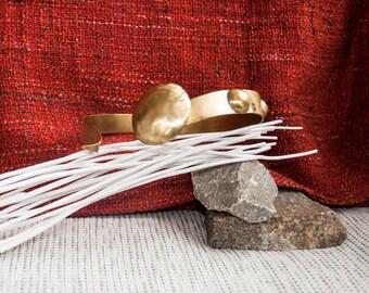 ZAIRA-rigid Necklace Choker handcrafted brass