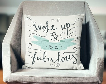 Pillows with Sayings | Throw Pillows With Words | Throw Pillows with Sayings | Quote Pillow | Hostess Gifts | Motivational Pillow |