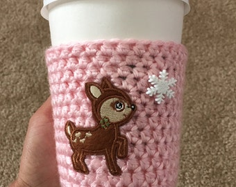 Deer Cup Cozy
