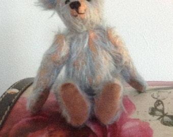 Finn, a handmade collector's mohair bear
