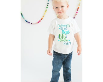 Big Brother Shirt, Boys shirt, Brother Shirt, Pregnancy Announcement Shirt, Sibling Shirt, Max and Mae Kids Clothing