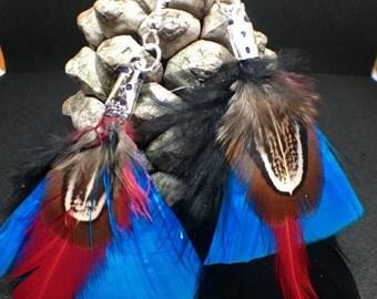 Feathers, Feathers earrings earrings