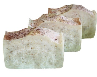 Oatmeal Milk Honey Soap Made With Goats Milk