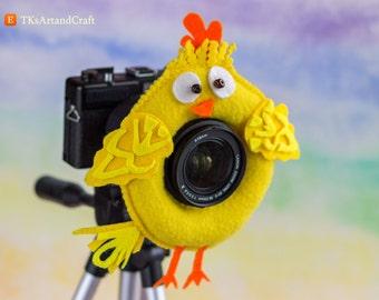 Photographer Helper, Camera Lens Buddy - Chicken
