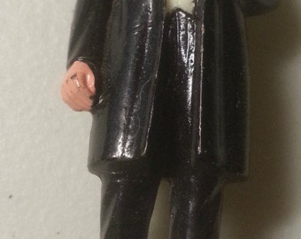 "Benjamin Harrison VINTAGE MARX US President #23 painted figure 2.75"", G 1968"