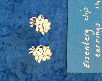 Eisenberg clip earrings