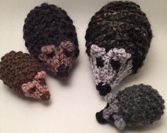 Doudou Hedgehog family