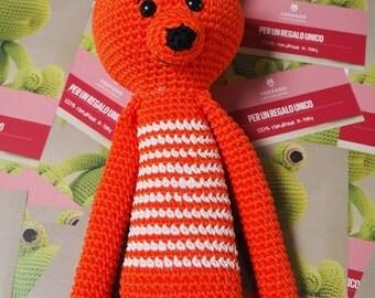 Fox amigurumi Ydekado handmade gift idea