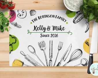 Wedding Gift, Cutting board, Custom Cutting Board, Housewarming Gift, Personalized, Anniversary Gift, Gift for her, Personalized Gift, Gift