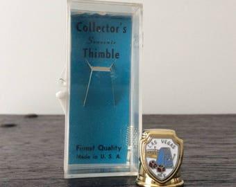 Vintage Las Vegas Thimble / Souvenir