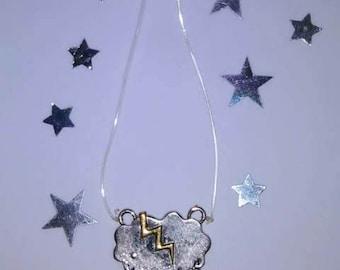 Rainy/Thunderstorm Pendant Charm Necklace