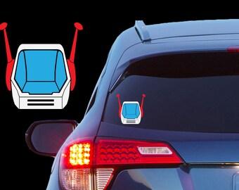 Guntank Vinyl Decal for Cars, Laptops, Tablets, Phones, Etc. - Mobile Suit Gundam (RX-75-4)