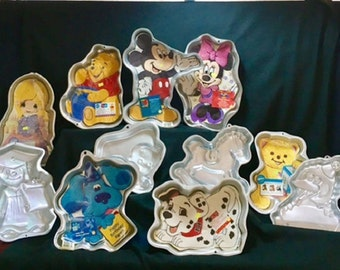 All ages novelty cake pans