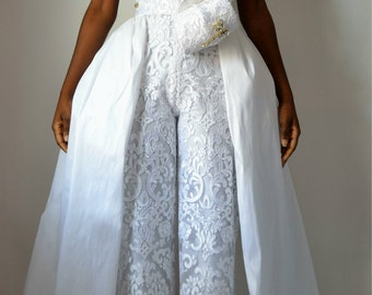Lilly Lace Wedding Jumpsuit