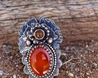Taos Carnelian Ring