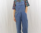 Vintage Overalls, Size XS-Small, Baggy Overalls, Painter Pants, Work Clothes, 90's, Grunge, My So Called Life, Hipster, Tumblr Clothing