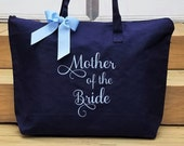 Mother of the Bride Tote Bag MOG Tote Bags Personalized Monogrammed