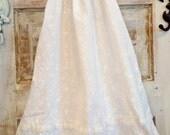 Boho Flower Girl Dress | White Flower Girl Dress | Photo Shoot Dress | First Birthday Dress | Ellie Ann and Lucy