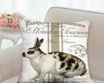 Easter French Style Pillow
