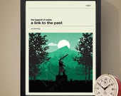 The Legend of Zelda: A Link To The Past Gaming Poster, Gaming Print, Games