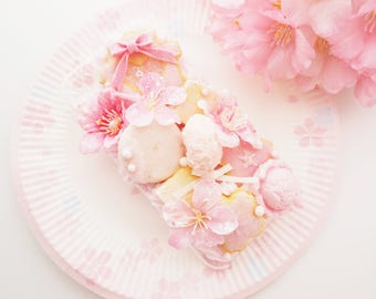 kawaii phone case * Sakura dessert