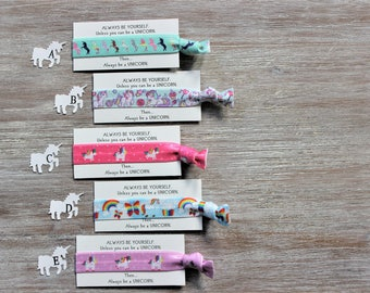 Unicorn- always be yourself unless you can be a unicorn then always be a unicorn-Hair Ties