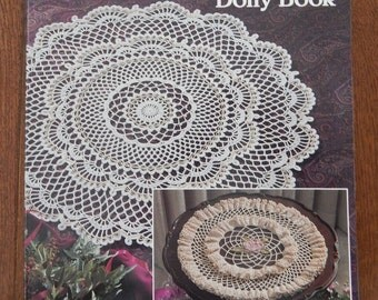 Crochet Doily Patterns/ Vintage Crochet The Ultimate Doily Book/ American School of Needlework 1185/ Instructions for 17 Doilies