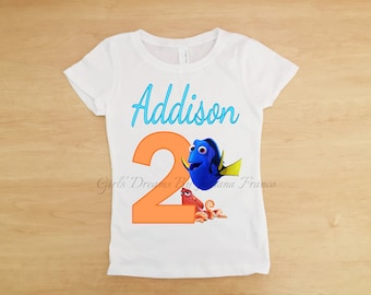 Finding Dory Birthday Shirt, Dory Shirt, Nemo Birthday Shirt, Finding Dory Shirt, Finding Nemo Birthday Shirt,