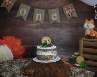 Woodland cake topper, cake number, woodland birthday party, woodland party decor, rustic party decor, rustic cake topper, rustic party decor