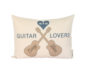 Guitar Gift, Gift for Musicians,  Anniversary, Guitarist  Gift, Gift for Him, Music Couple, Music Decor