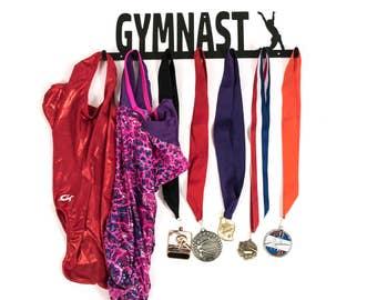 Gymnast Medal Holder, Gymnast Medal Display, Gymnastics Medal Holder, Gymnastics Medal Display, Gymnast Gift Idea, Gift Idea for Gymnast
