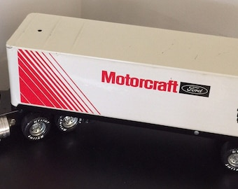 1988 Nylint Motorcraft Ford Semi Tractor & Trailer