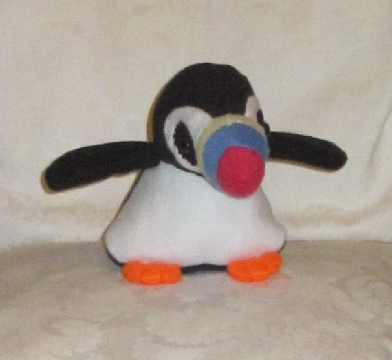 Puffin Stuffed Toy, Stuffed Puffin Toy, Cuddly Toy Puffin. Friendly Puffin Stuffie, Toy for Boys, Girls Stuffed Toy, Toddlers Best  Friend,