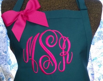 Apron Personalized with Name or Initials
