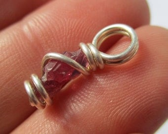 Winza Ruby Pendant / Ruby Necklace / Ruby Jewelry / The HEALERS Crystal / Powerhouse Of Vitality / Action & Confidence / July Birthstone
