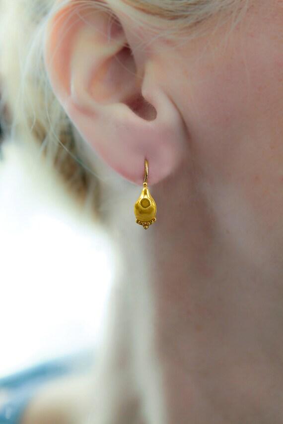 Dainty Gold Earring small drop earrings gold dangle