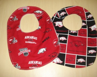 Arkansas Razorback bib