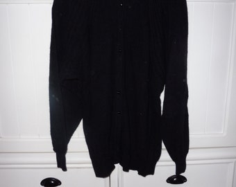 Angora Cardigan size 42 FR - 1980s
