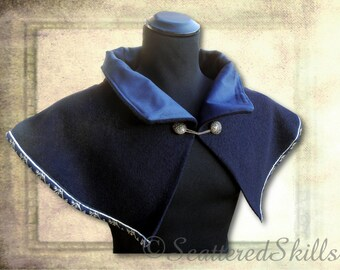 Collar made of pure wool, for LARP. Middle Ages, fantasy