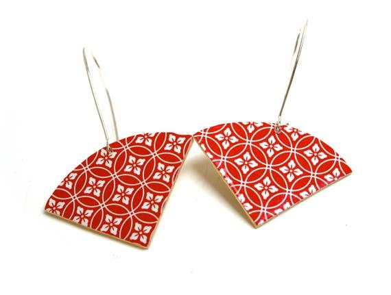 Sleepers wood geometric pattern Japanese washi