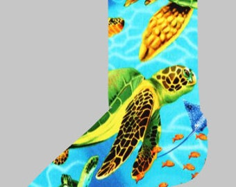Loggerhead Sea Turtle Sock