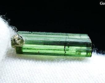 Natural Rough Green Small Tourmaline Crystal