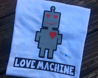 Love Machine Vday shirt